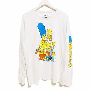 The Simpsons Family Portrait Long Sleeve T-Shirt Mens 2XL XXL