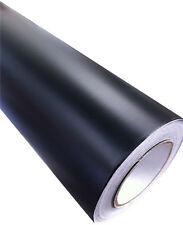 Negro mate pegatina de vinilo Wrap Para Coche/Moto 152 x 30cm