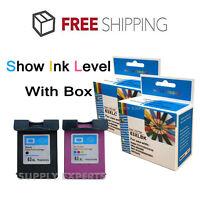 2 Combo Ink Cartridges for HP 63XL HP Deskjet 1110 1112 2130 3630 3632 3634 3636
