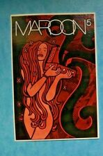 maroon 5 -rare 2 promo stickerpostcards for 2002 release Songs About Jane