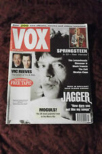 Mick Jagger, Bruce Springsteen VOX magazine MARCH 1993