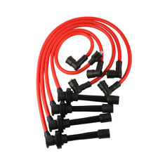 Spark Plug Ignition Wire Kit For 1992-02 Honda Accord Civic 8 mm Spiral Core Set