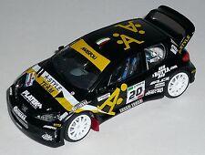 PEUGEOT 206 WRC  BOTTA MONZA RALLY SHOW 2008 DECALS SCALA 1/43