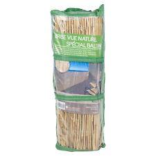 100x50cm Bambù Canna Stecca Schermatura Giardino Privacy Scherma fuori Pannello