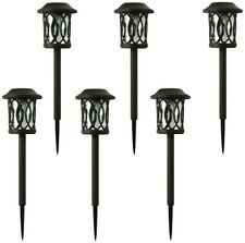 Hampton Bay Solar Bronze Outdoor Integrated LED 6-Lumens Landscape Pathway Light