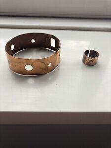 Copper Bracelet & Ring