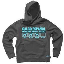 Sweatshirt GALGO ESPANOL HÖREN AUFS WORT by Siviwonder Hoodie