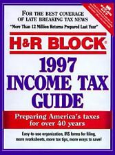 H&R Block 1997 Income Tax Guide (Annual)