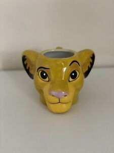 Disney The Lion King Simba Shaped Mug (One Size) BRAND NEW STILL WITH LABEL