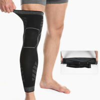 Nylon Sport Thigh Brace Support Compression Sleeves Leg Protect Gym Fitness 1PC