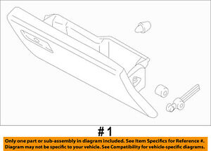 FORD OEM 15-16 F-150-Dash Glove Compartment Box Door FL3Z1506024BD