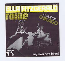 45 RPM SP ELLA FITZGERALD ROXIE / MY OWN BEST FRIEND