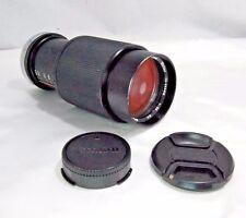 VIVITAR Lens 75-205mm F3.8 MC for Canon C/FD macro focusing zoom