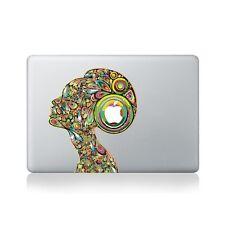 Psychedelic Lady Vinyl Sticker for Macbook (13/15), Laptop or Guitar / Macboo...