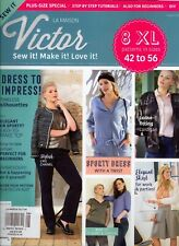 La Maison Victor Issue 8 (2018) 8 XL Patterns Sizes 42 to 56 Plus Size Special