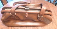 Vintage Leather Short Strap Bro9wn Purse