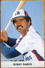 1980 Autograph/Signed Baseball Postcard: Montreal Expos, Bobby Ramos