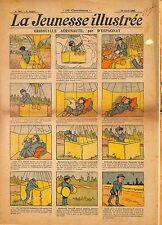 """ LA JEUNESSE ILLUSTREE "" PERIODIQUE BENJAMIN RABIER GEORGES D' ESPAGNAT 1908"