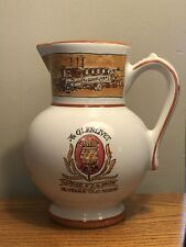 Vtg The Glenlivet 12 Yeaes Old Scotch Whiskey Revol France 7 3/8� Pitcher Rare