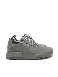 Adidas NMD R1 TR Men's Trail Running Shoe Triple Grey Sneaker FX6803 Size 10