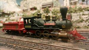 Aristo-Craft Japan Vintage HO C&A Old Time 2-6-0 Steam Locomotive, Tested, Exc..
