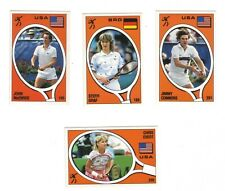 MCENROE, CONNORS,GRAF, EVERT TENNIS PANINI MINT 1988 DIRECTLY FROM PACKET