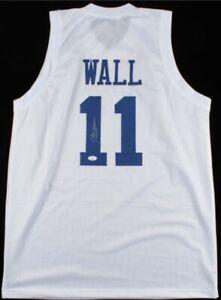 John Wall Signed Jersey (JSA COA) Kentucky Wildcats