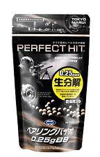 Tokyo Marui Airsoft Bio BB Pellets bullet 0.25g 1300shots Made in Japan.