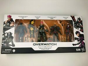 New Overwatch Ultimate's Carbon Series Figure 4-Pack D. Va Genji Pharah & Zarya