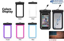 Waterproof Bag Underwater Pouch Dry Case Cover For iPhone Cell Phone,LG, Samsung