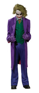 Joker Grand Heritage Adult Costume Suit Dark Knight Batman Movie Halloween