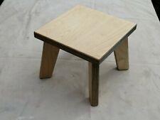 Handmade Birch Ply Children Stool, Kids Stool,Chair (Sturdy)Boys&Girls