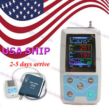 FDA Ambulatory Blood Pressure Patient Monitor 24h NIBP Holter ABPM50, CONTEC