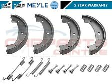 FOR BMW 1 SERIES E81 E87 E88 REAR HANDBRAKE PARKING BRAKE SHOES SHOW FITTING KIT