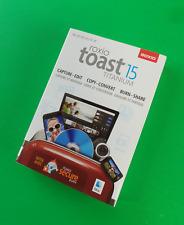 ROXIO Toast 15 TITANIUM ultimate media toolkit for Mac (includes CD) #8671