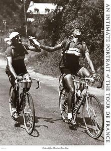 Tour de France ARCHRIVALS Fausto Coppi Gino Bartali c.1949 Cycling POSTER Print