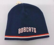 Charlotte Bobcats NBA Winter Fitted Cuffless Knit Beanie Hat Skully Cap NWT