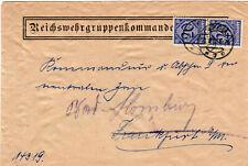 Heeressache 1920 Vordruck Vignette Reichswehr Gruppen Kommando 2 Kassel Militär