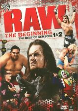 WWE: Raw: The Beginning - Best of Seasons 1 & 2 (DVD, 2010, 4-Disc Set) New
