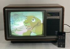 General Electric Vintage Television 📺 13� Model 13Ac2545W w/ Original Remote