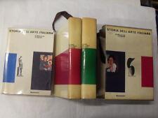 MAZZARIOLI/PIGNATTI - STORIA DELL'ARTE ITALIANA 3 VOLUMI - ED.MONDADORI - 1961