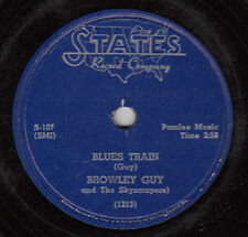 BROWLEY GUY & SKYSCRAPERS - Blues Train- VOCAL GROUP 78