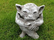 Fantasiefigur Gargoyle Figur Steinfiguren Gartenfiguren Deko Steinguss