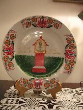 Czech Hand painted Plate