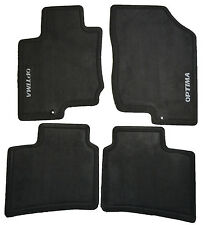 New OEM Dark Gray Carpeted Floor mats Set For A Kia Optima P81402G011VA