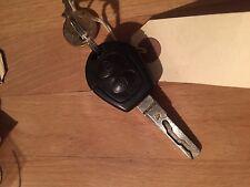 Usado Volkswagen 2 Botón Remoto Clave Fob-Genuine Part