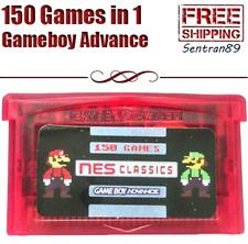 NES Classics 150 Games in 1 - GBA Gameboy Advance Multicart Game Boy Cart Zelda