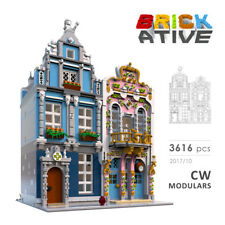 Lego Custom Modular Building ** CW MODULARS ** INSTRUCTIONS ONLY! instruction
