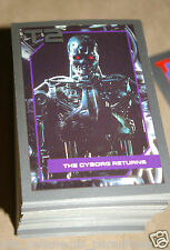 1991 / 91 Impel - Terminator 2 140 Card & 10 special offer cards.