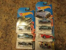 2017 HOT WHEELS K-MART DAYS ALL 7 SPECIAL CARS K-MART ONLY CARS 2/18/17